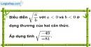 Bài 39 trang 11 SBT toán 9 tập 1