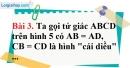 Bài 3 trang 93 Vở bài tập toán 8 tập 1