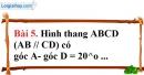 Bài 5 trang 95 Vở bài tập toán 8 tập 1