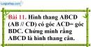 Bài 11 trang 100 Vở bài tập toán 8 tập 1