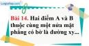 Bài 14 trang 103 Vở bài tập toán 8 tập 1