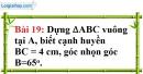 Bài 19 trang 106 Vở bài tập toán 8 tập 1