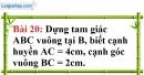 Bài 20 trang 107 Vở bài tập toán 8 tập 1