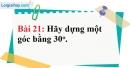 Bài 21 trang 107 Vở bài tập toán 8 tập 1