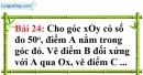 Bài 24 trang 110 Vở bài tập toán 8 tập 1