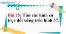Bài 25 trang 111 Vở bài tập toán 8 tập 1