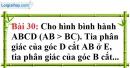 Bài 30 trang 114 Vở bài tập toán 8 tập 1
