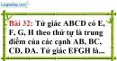 Bài 32 trang 116 Vở bài tập toán 8 tập 1