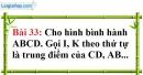 Bài 33 trang 116 Vở bài tập toán 8 tập 1