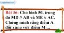 Bài 36 trang 119 Vở bài tập toán 8 tập 1