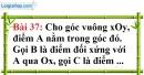 Bài 37 trang 119 Vở bài tập toán 8 tập 1