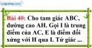 Bài 40 trang 122 Vở bài tập toán 8 tập 1