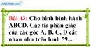 Bài 43 trang 123 Vở bài tập toán 8 tập 1