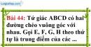 Bài 44 trang 124 Vở bài tập toán 8 tập 1