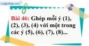 Bài 46 trang 127 Vở bài tập toán 8 tập 1
