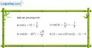 Bài 1.15 trang 23 SBT đại số và giải tích 11