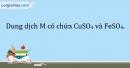 Bài 15.20 Trang 21 SBT Hóa học 9