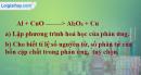 Bài 16.4 trang 22 SBT hóa học 8