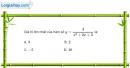Bài 1.87 trang 41 SBT giải tích 12