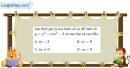 Bài 1.91 trang 42 SBT giải tích 12