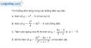 Bài 1.93 trang 42 SBT giải tích 12