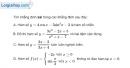 Bài 1.94 trang 42 SBT giải tích 12