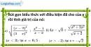 Bài 42 trang 12 SBT toán 9 tập 1