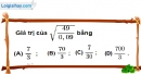 Bài 4.1 phần bài tập bổ sung trang 12 SBT toán 9 tập 1
