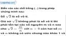 Bài 52 trang 13 SBT toán 9 tập 1