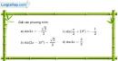Bài 1.14 trang 23 SBT đại số và giải tích 11