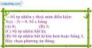 Bài 5.1 phần bài tập bổ sung trang 13 SBT toán 6 tập 1