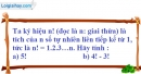 Bài 58 trang 13 SBT toán 6 tập 1
