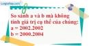 Bài 60 trang 13 SBT toán 6 tập 1