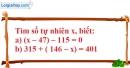 Bài 64 trang 13 SBT toán 6 tập 1