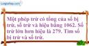 Bài 74 trang 14 SBT toán 6 tập 1