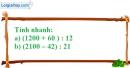 Bài 76 trang 14 SBT toán 6 tập 1