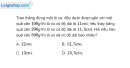 Bài 9.6 trang 32 SBT Vật lí 6
