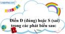 Bài 6.1 phần bài tập bổ sung trang 75 SBT toán 6 tập 1