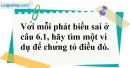 Bài 6.2 phần bài tập bổ sung trang 76 SBT toán 6 tập 1