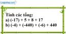 Bài 62 trang 75 SBT toán 6 tập 1