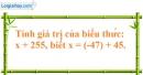 Bài 6.3 trang 77 phần bài tập bổ sung SBT toán 6 tập 1