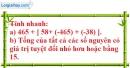 Bài 66 trang 76 SBT toán 6 tập 1