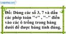 Bài 76 trang 78 SBT toán 6 tập 1