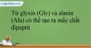 Bài 11.5;11.6;11.7;11.8;11.9 trang 22 SBT Hóa học 12