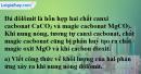 Bài 17.4 trang 23 SBT hóa học 8