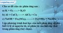Bài 17.5 trang 23 SBT hóa học 8