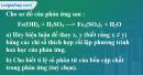 Bài 17.9 trang 24 SBT hóa học 8