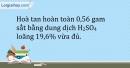 Bài 19.10 Trang 24 SBT Hóa học 9