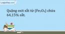 Bài 20.3 Trang 25 SBT Hóa học 9