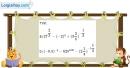 Bài 2.2 trang 99 SBT giải tích 12